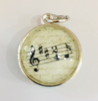 Music Notes- Music Lover Pendant
