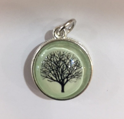 Have Faith Tree Pendant