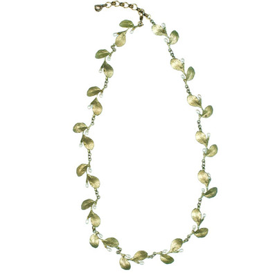 "Irish Thorn ""Tailored Leaves"" Necklace"