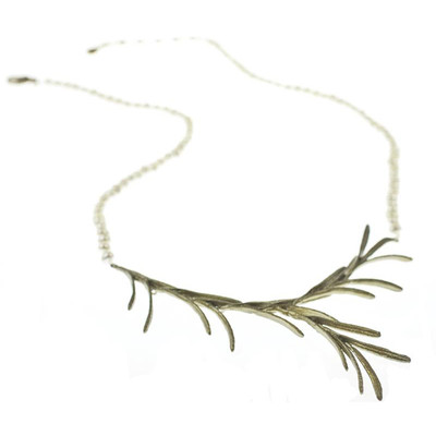 Rosemary Pearl Contour Necklace