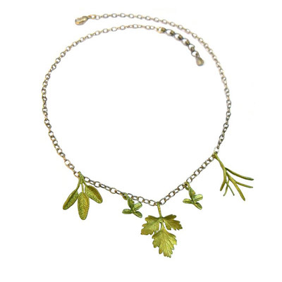 Petite Herbs Charm Necklace