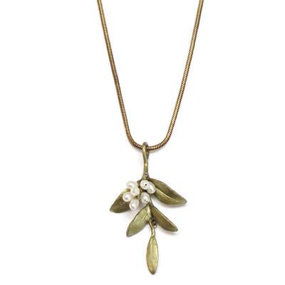 Flowering Myrtle Pendant Necklace