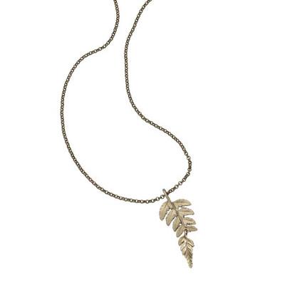 Fern Pendant Necklace