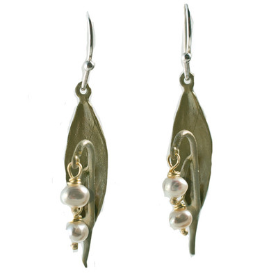 Lily of the Valley Fishhook Earrings