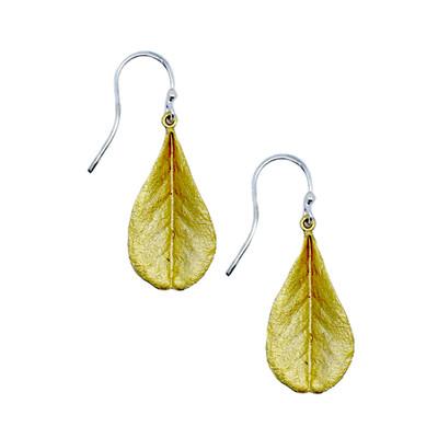False Indigo Fishhook Earrings