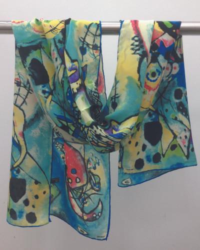 Abstract Dream Silk Scarf