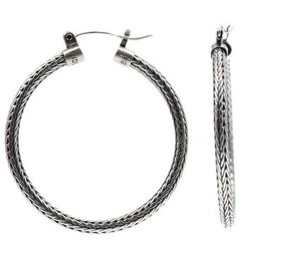 Dewi Tulang Naga Hoop Earrings