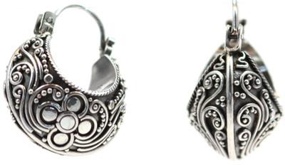 Dewi Filigree Wrap Earrings