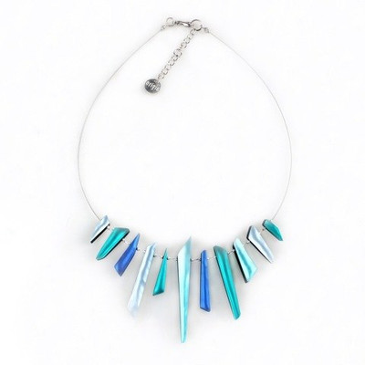 """Mediterranean"" Icicle Necklace"