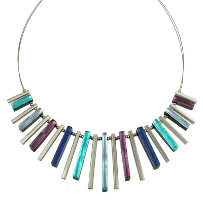 """Haze"" Square Sticks Necklace"