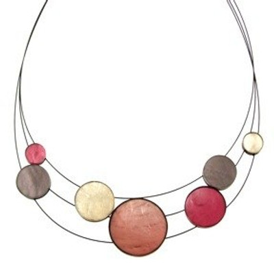 Planetary Necklace 3-Strand Future Africa Combi