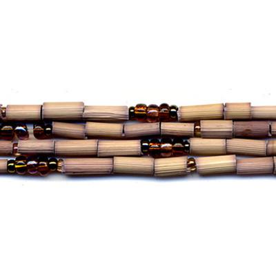 handmade single strand zulugrass african bead jewelry in elephant kidigo