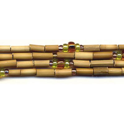 handmade single strand zulugrass african bead jewelry in caracal
