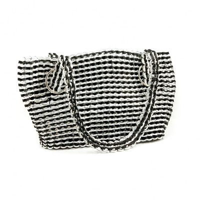 medium soda tab purse gail bag black