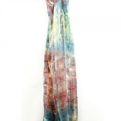 silk scarf takas monets dream