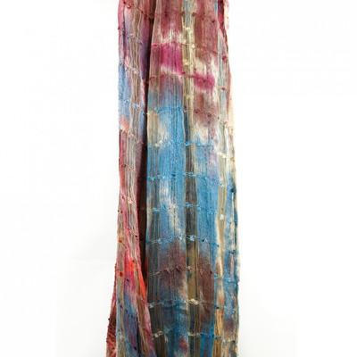 silk scarf takas vintage berries