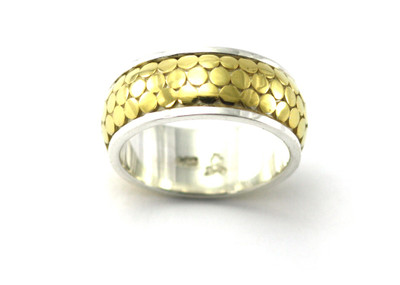 Silver/Gold Designer Ring