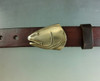 Redfish Belt Buckle in Bronze