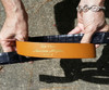Alligator belt in Black 1.25 inches wide  size 34