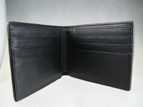 Inside view of bifold wallet