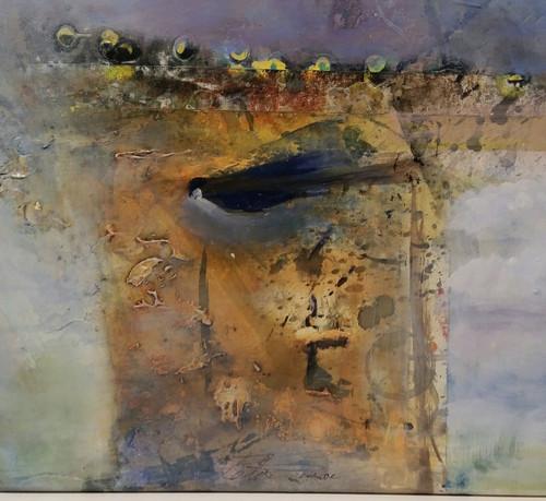 See Birds  24 x 36 acrylic on canvas detail