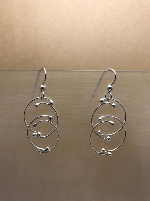 Circles in Circles Earrings