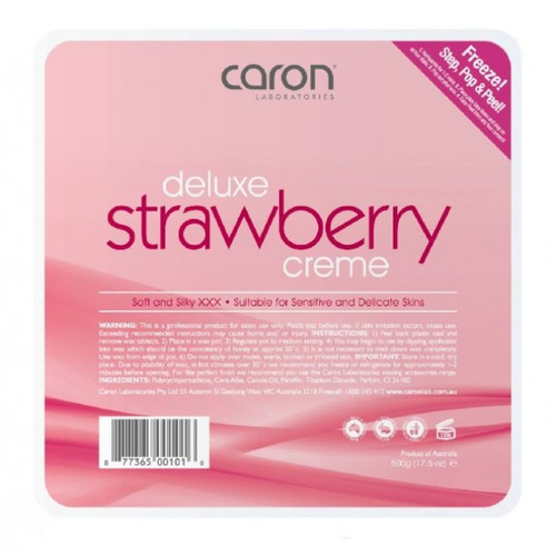 Caron Delux Strawberry Cream Hard Wax