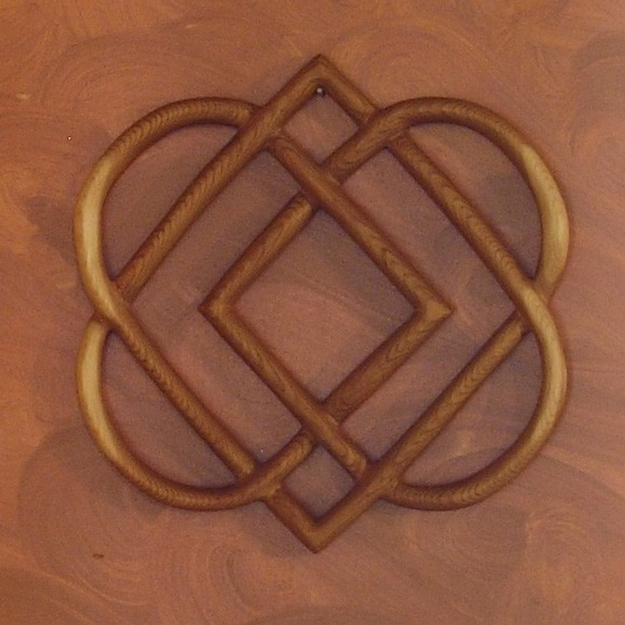 Celtic Knot Of Four Hearts Family Love Knot Wood Carving Signs Of