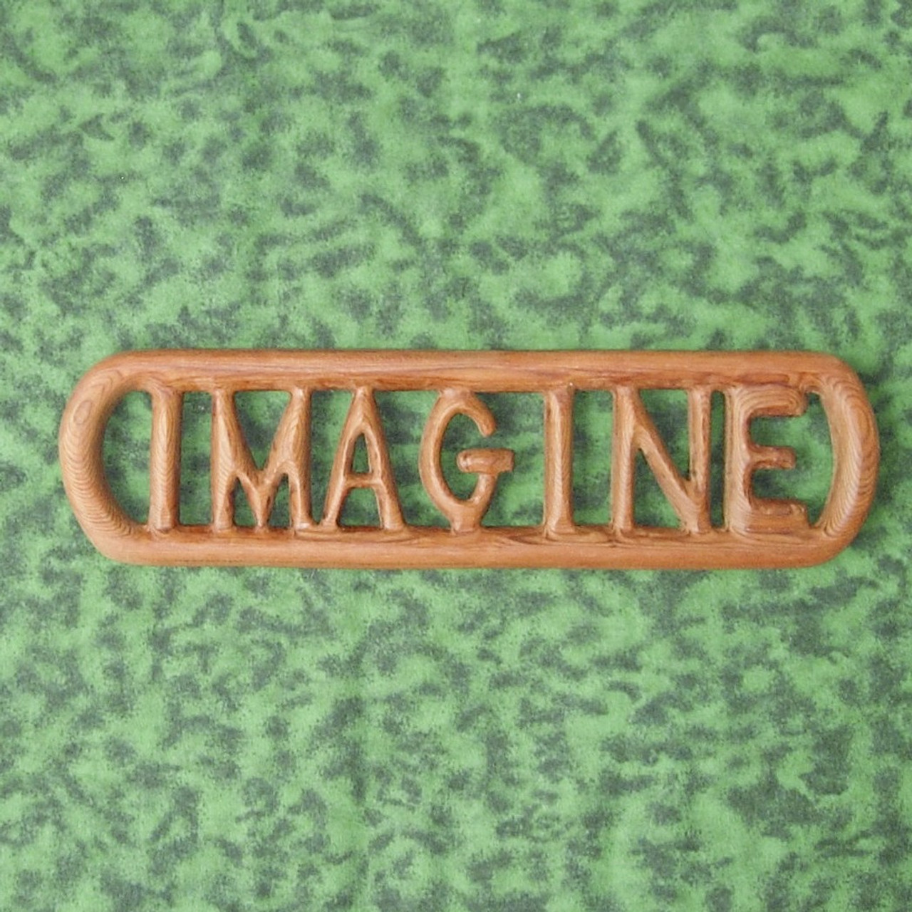 Imagine Wood Carving By Signs Of Spirit