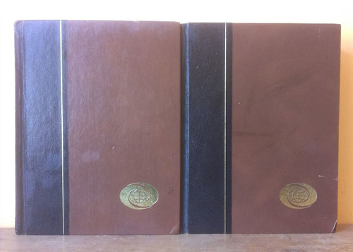 The World Book Dictionary Black Spine (Complete 2 Book Set)