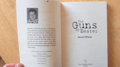 Whelan, Gerard  - The Guns of Easter BRAND NEW O'Brien Press PB 1916 Novel