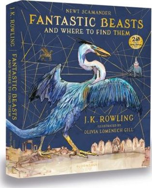 Rowling, J.K - Fantastic Beasts & Where to Find Them - Deluxe HB Ed 2017 SIGNED Harry Potter