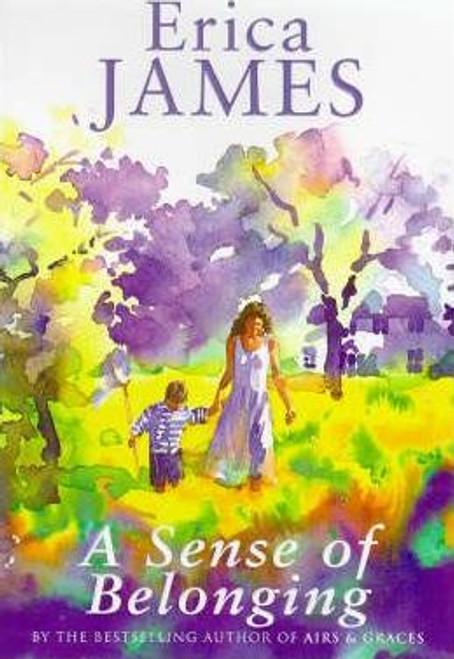 James, Erica / A Sense Of Belonging (Large Paperback)