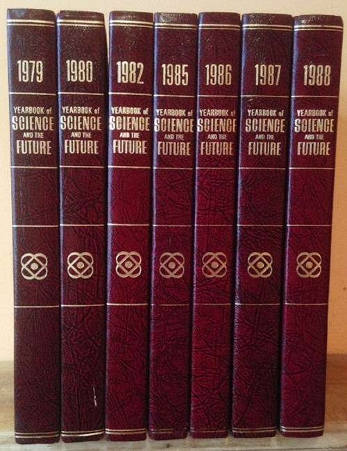 The Yearbook of Science and Future 1979 - 1988 (7 Book Collection)
