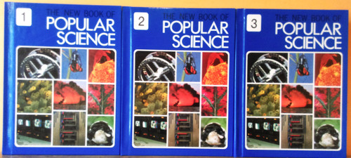 The New Book of Popular Science (Grolier) (Complete 6 Book Set) 1979