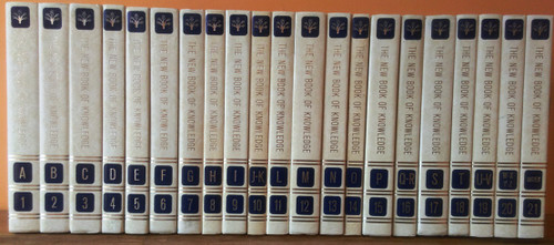 The New Book of Knowledge 1984 (Complete 21 Book Encyclopedia Set)