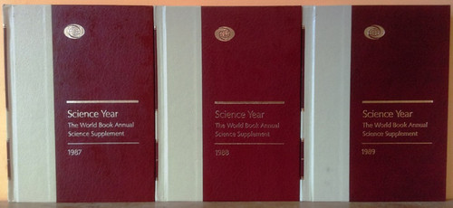Science Year 1987 - 1996 (10 Book Set)