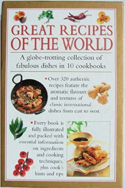 Great Recipes of the World: A globe-trotting collection of fabulous dishes in 10 cookbooks (10 Book Box Set)