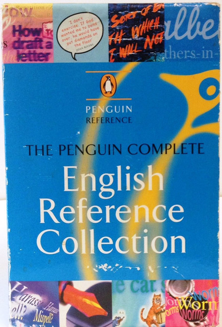 The Penguin Complete English Reference Collection (8 Book Box Set)