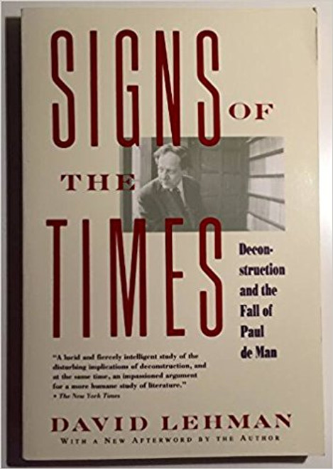 Lehman, David / Signs of the Times (Large Hardback)