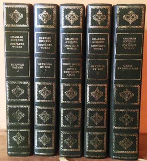 Charles Dickens: Complete Works (5 Book Collection)