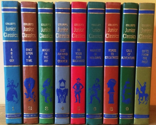 The Young Folks Shelf of Books: Collier's Junior Classics (9 Book Collection)
