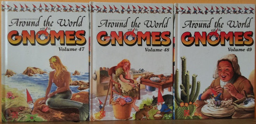 The Secret Book of the Gnomes (44 Book Collection)