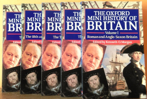 The Oxford Mini History of Britain (Complete 5 Book Set)