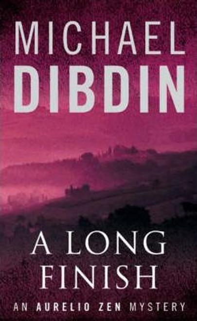 Dibdin, Michael / A Long Finish