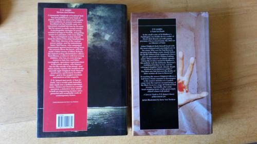 James, P.D - 2 Book Lot - Adam Dalgleish- Devices & Desires & A Taste For Death HB Crime