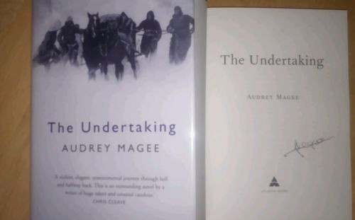 Magee, Audrey -  SIGNED The Undertaking Hardcover 1st Edition 2014 WW2