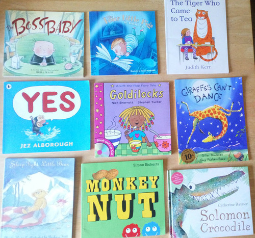 9 BOOK LOT/ COLLECTION - Children's illustrated Books - Young readers/ bedtime stories, Home/School library