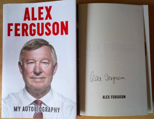 Alex Ferguson SIGNED My Autobiography HB 2013 Manchester United