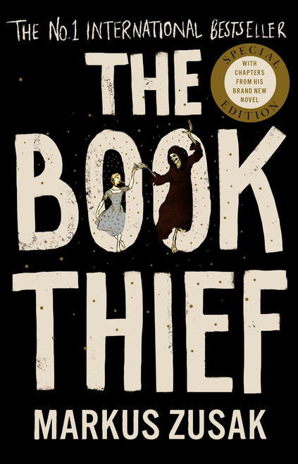 Zusak, Markus - The Book Thief  2018 Edition- BRAND NEW PB With Illustrations